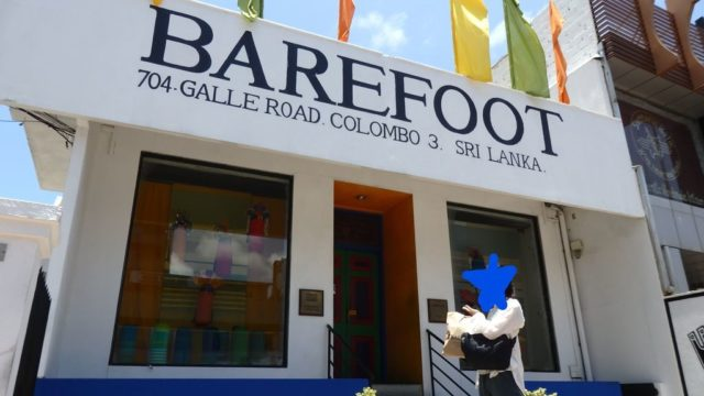 スリランカ旅行,おすすめお土産,ベアフット,BAREFOOT