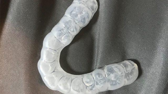 歯ぎしり 噛みしめ 就寝時用マウスピース