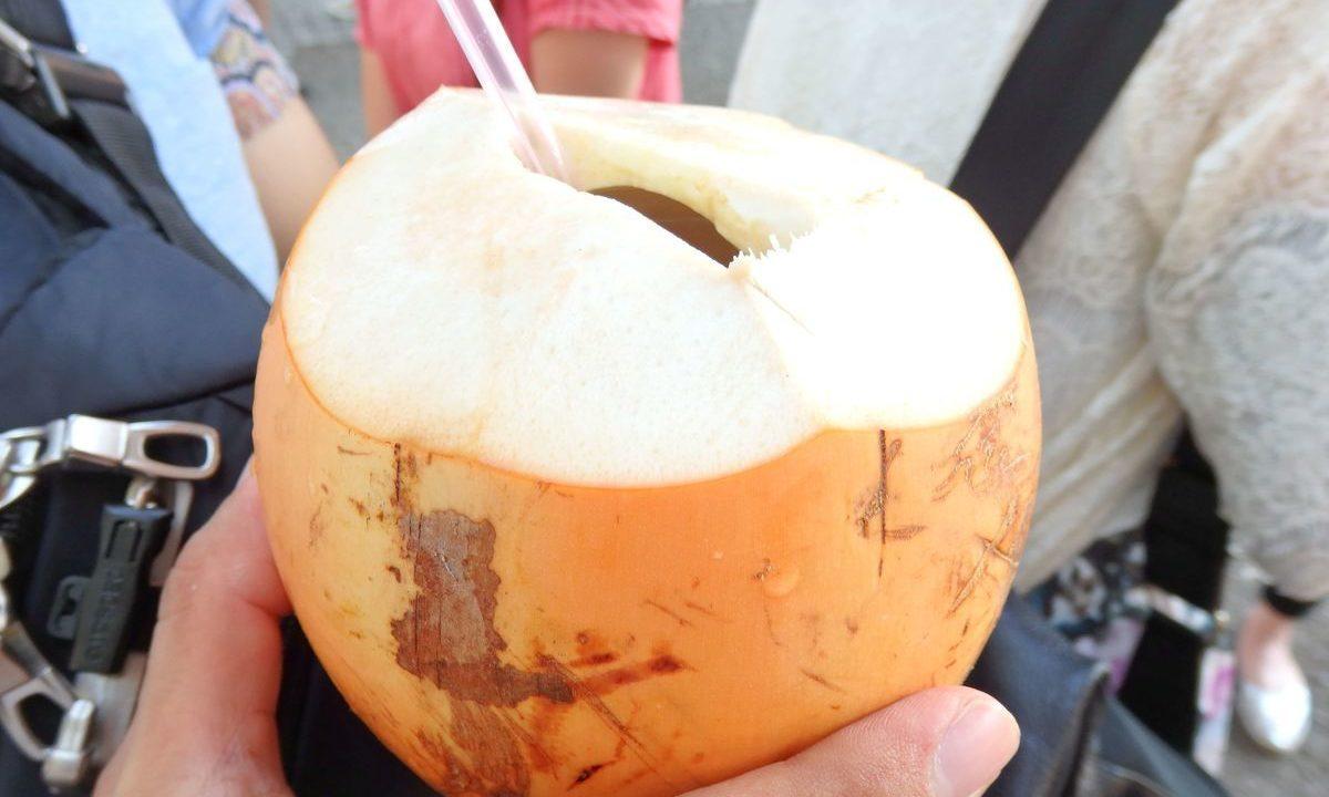 スリランカフェス代々木公園、ココナッツジュース