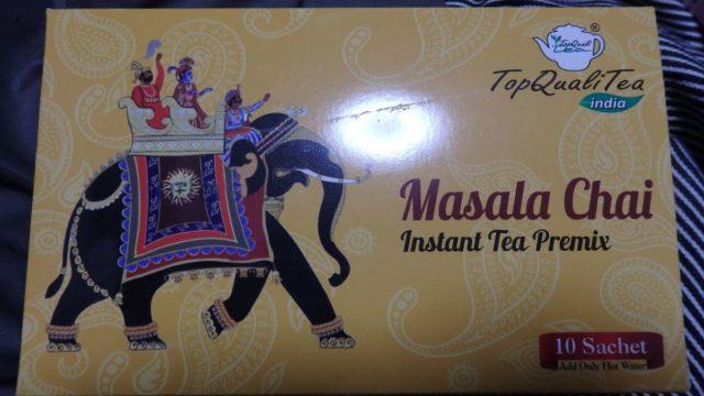 Top QualiTea、マサラチャイ、インド土産