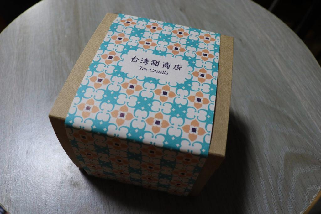 台湾甜商店『甜カステラ プレーン』マジョリカタイル柄パッケージ