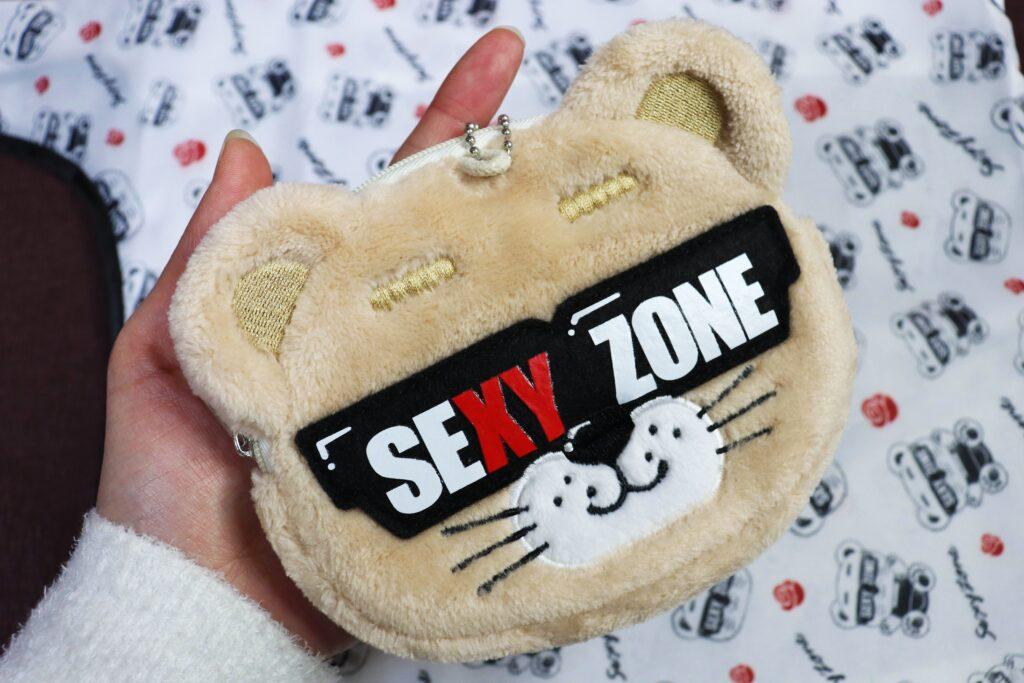「Sexy Zone Anniversary Tour 2021 SZ10TH」ツアーグッズ「大切なあの子のことを想うかのごとくエコのことを考えてみたらどうなるかな? My Sexy エコバッグ」セクベアポーチ