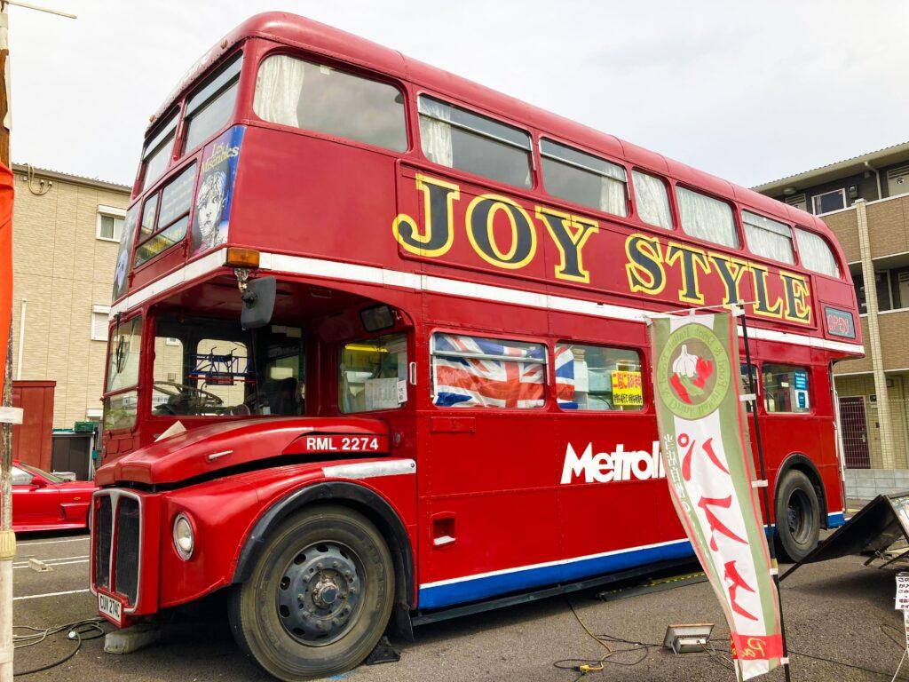 越谷レイクタウン隣、ロンドンバスの洋食店JOY STYLE(ジョイスタイル)